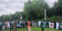 Pakistan Zindabad Rally Organised In Brussels