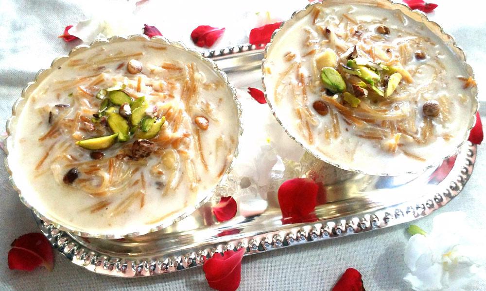 میٹھے پکوانوں میں شیرخرما سب سے لذیذ اور بہترین