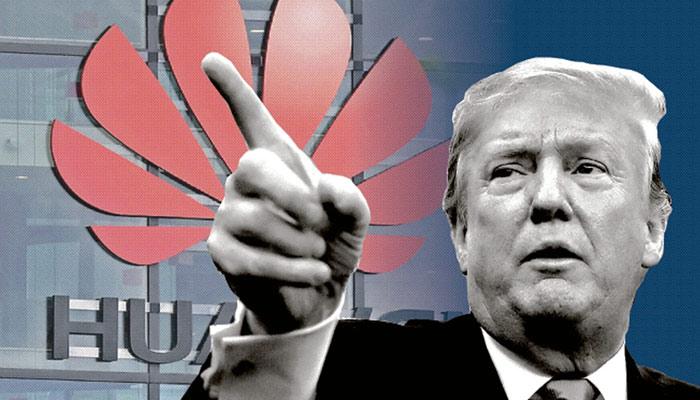ہواوے بمقابلہ امریکا: ٹرمپ نے ٹیک سرد جنگ کا خطرہ مول لے لیا