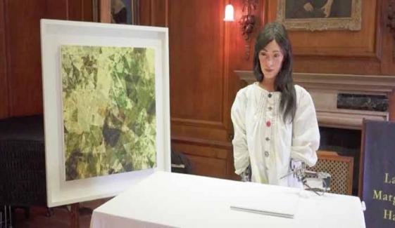 Humanoid Robot Artist Ai Da Gears Up For First Solo Exhibit