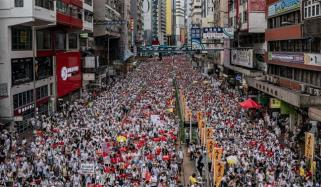 Scenes Of Defiance As Protests Escalate Against Hong Kongs Extradition Bill