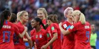 Usa Defeated Thailand In The Womens Football Worldcup