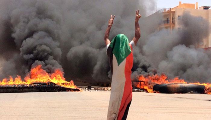 سوڈان :نوجوان کی موت کے بعد سوشل میڈیا پر مہم