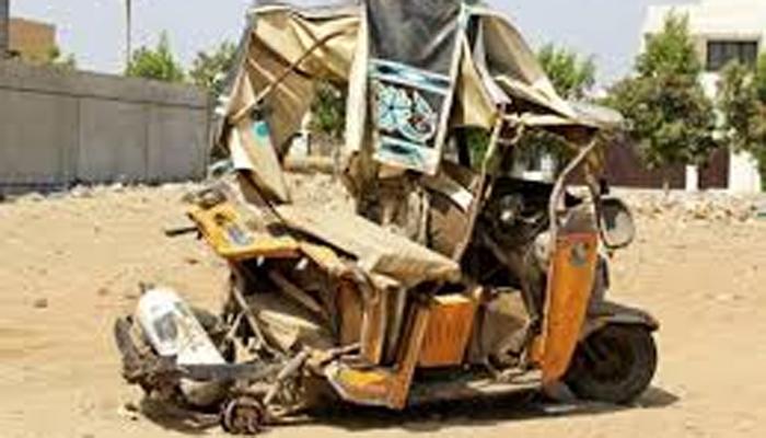 کراچی ٹریفک حادثہ، ماں بیٹا جاں بحق