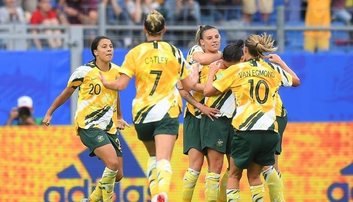 ویمنز ورلڈ کپ فٹ بال: آسٹریلیا نے سنسنی خیز مقابلے کے بعد برازیل کو ہرا دیا