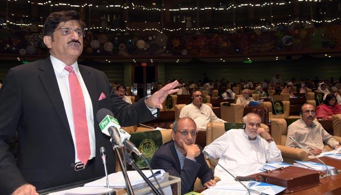 سندھ 1217 ارب کا خسارہ فری بجٹ، تنخواہوں میں 15فیصد اضافہ