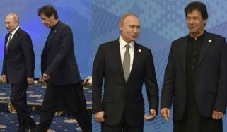 Imran Khan And Vladimir Putin Together Modi Alone