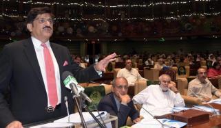 Sindhs 1217 Billion Deficit Free Budget 15 Percent Salary Raised