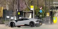 Lamborghini Performance Loses Control And Crashes Into A Tree
