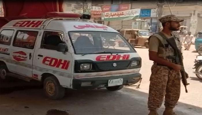 رینجرز کی جانب سے سندھ بھر میں ہیٹ اسٹروک مراکز کا قیام
