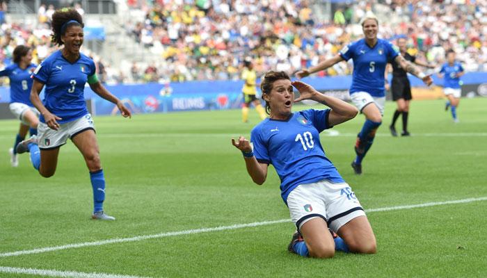 ویمنز ورلڈ کپ فٹ بال:کرسٹیانا کی شاندار ہیٹ ٹرک