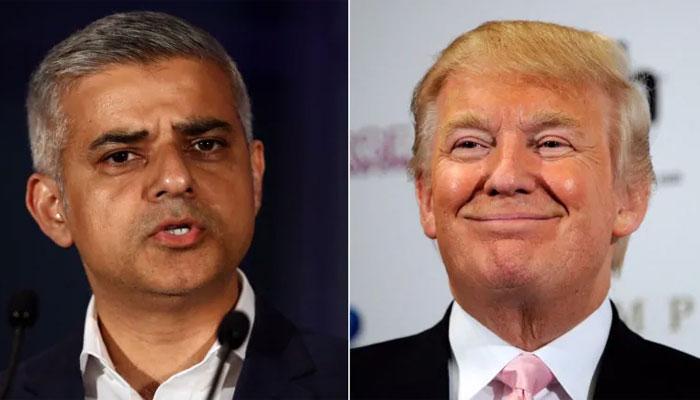 ٹرمپ کی مئیر لندن پر پھر لفظوں کی گولہ باری
