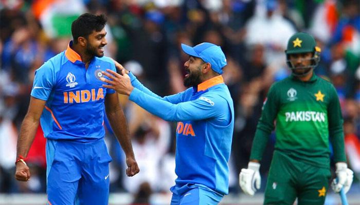 بھارت نے پاکستان کو 89رنز سے شکست دے دی