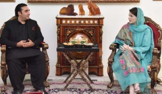Maryam Nawaz Meets With Bilawal Bhutto Zardari