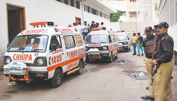 کراچی،اورنگی ٹاؤن میں فائرنگ سے 2 پولیس اہلکار شہید