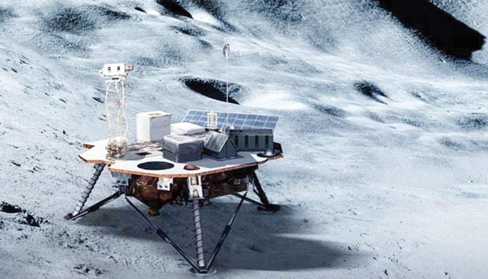 ناسا کی چاند پر اُترنے والی انسان بر دا ر گاڑی
