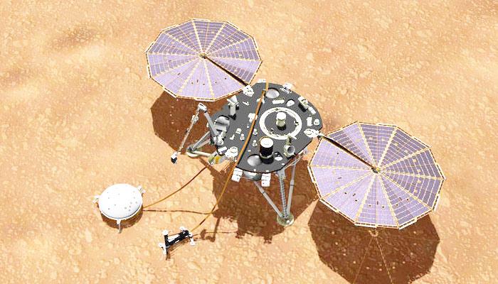 مریخ پر زلزے کی ریکارڈنگ