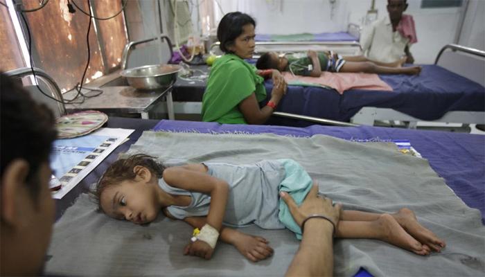 بھارت، دماغی بیماری سے ہلاک بچوں کی تعداد 100 ہوگئی