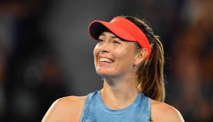 ٹینس اسٹار ماریہ شرا پووا کی ٹینس میں واپسی