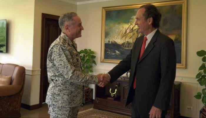 ارجنٹائن کے سفیر کی پاک بحریہ کے سربراہ سےملاقات