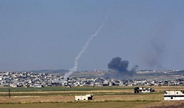 شام میں راکٹ حملہ بچوں سمیت 12 شہری جاں بحق
