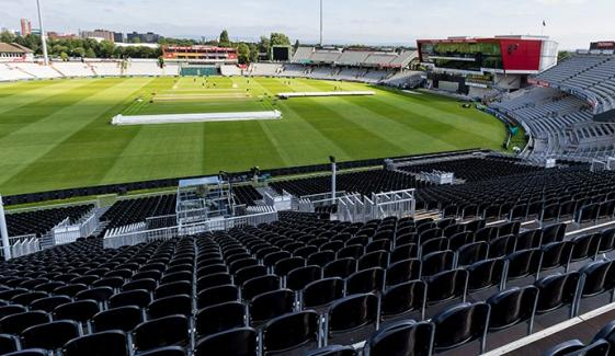 Old Trafford Ground Silence After Pak India Match