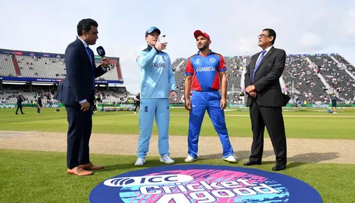 انگلینڈ کا افغانستان کے خلاف ٹاس جیت کر بیٹنگ کا فیصلہ
