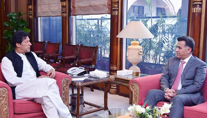وزیراعظم عمران خان سے ڈی جی آئی ایس آئی کی ملاقات