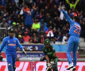 بھارت سے ورلڈ کپ میں 7ویں مرتبہ شکست