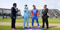 England Won The Toss And Batting Against Afghanistan