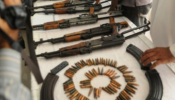 پشاور، سی ٹی ڈی کی کارروائی، اسلحہ برآمد