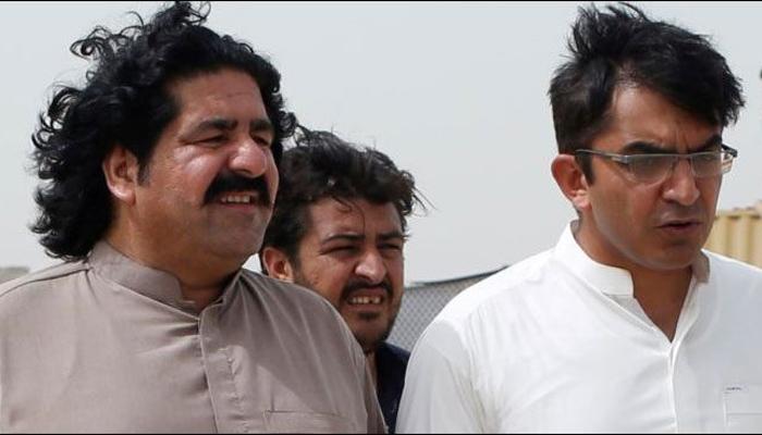 علی وزیر، محسن داوڑ انسداد دہشتگردی عدالت میں پیش