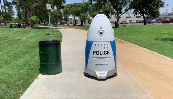 کیلے فورنیا،مجرموں پر اب 'روبو کوپ'نظر رکھے گا