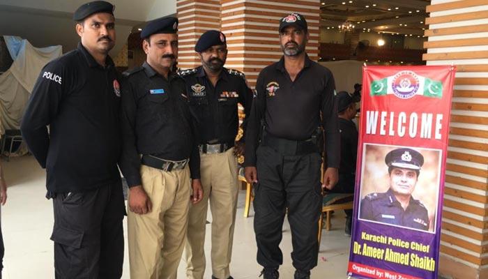 کراچی:ایڈیشنل آئی جی کا چیئرمین ضلع وسطی کے ساتھ اجلاس عام