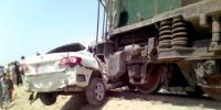 Hyderabad Train And Car Accident 3 Dead