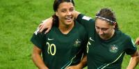 Fifa Womens World Cup Australia Beat Jamaica By 4 1