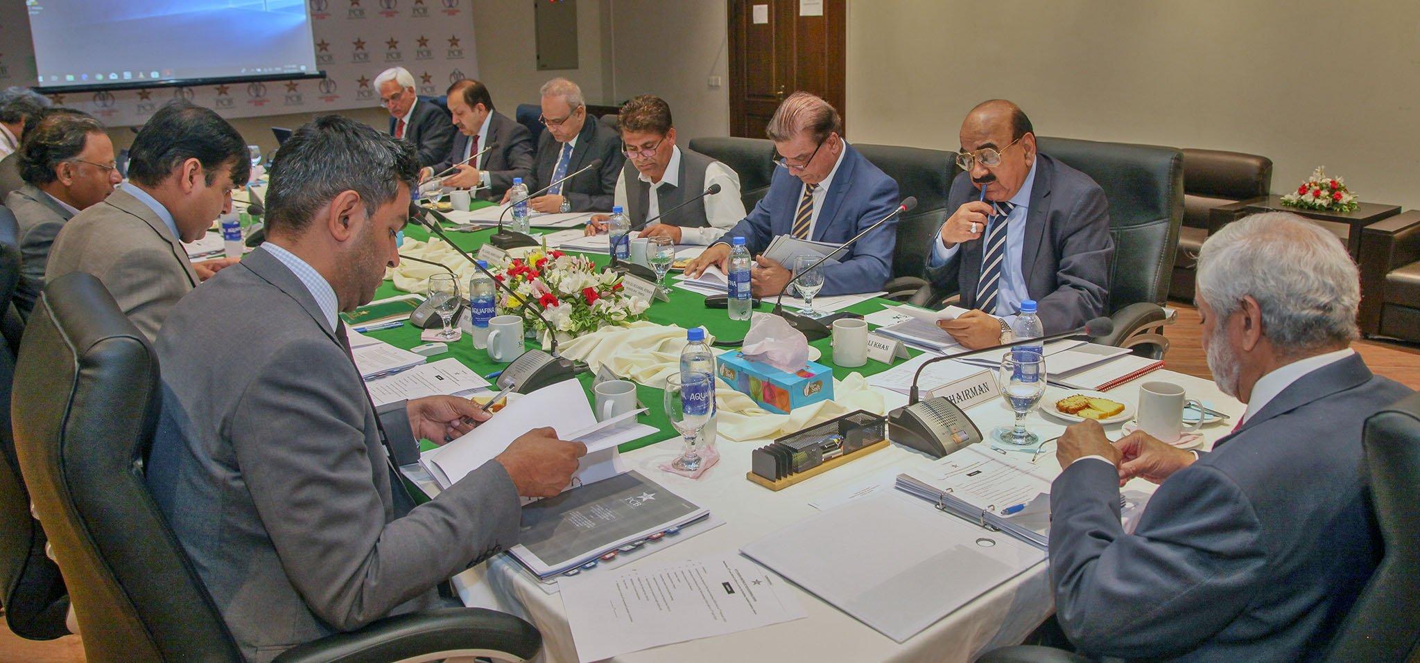پی سی بی گورننگ بورڈ اجلاس میں بجٹ منظور نہ ہو سکا