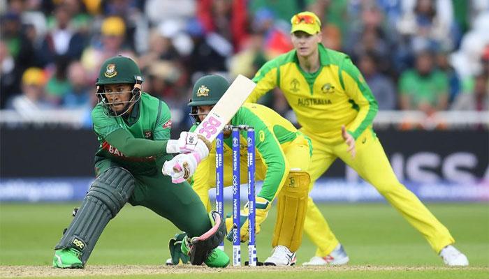 بنگلادیش کو شکست، آسٹریلیا پھر نمبرون