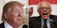 Bernie Senders Attacks On Donald Trump