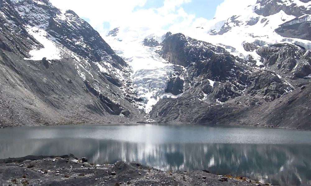 شسپر گلیشیئر جھیل سے پانی کا اخراج مکمل
