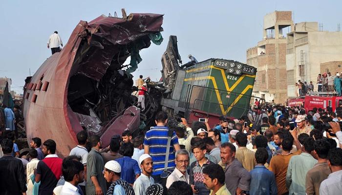 جناح ایکسپریس حادثے کا ذمہ دار ٹرین ڈرائیور قرار