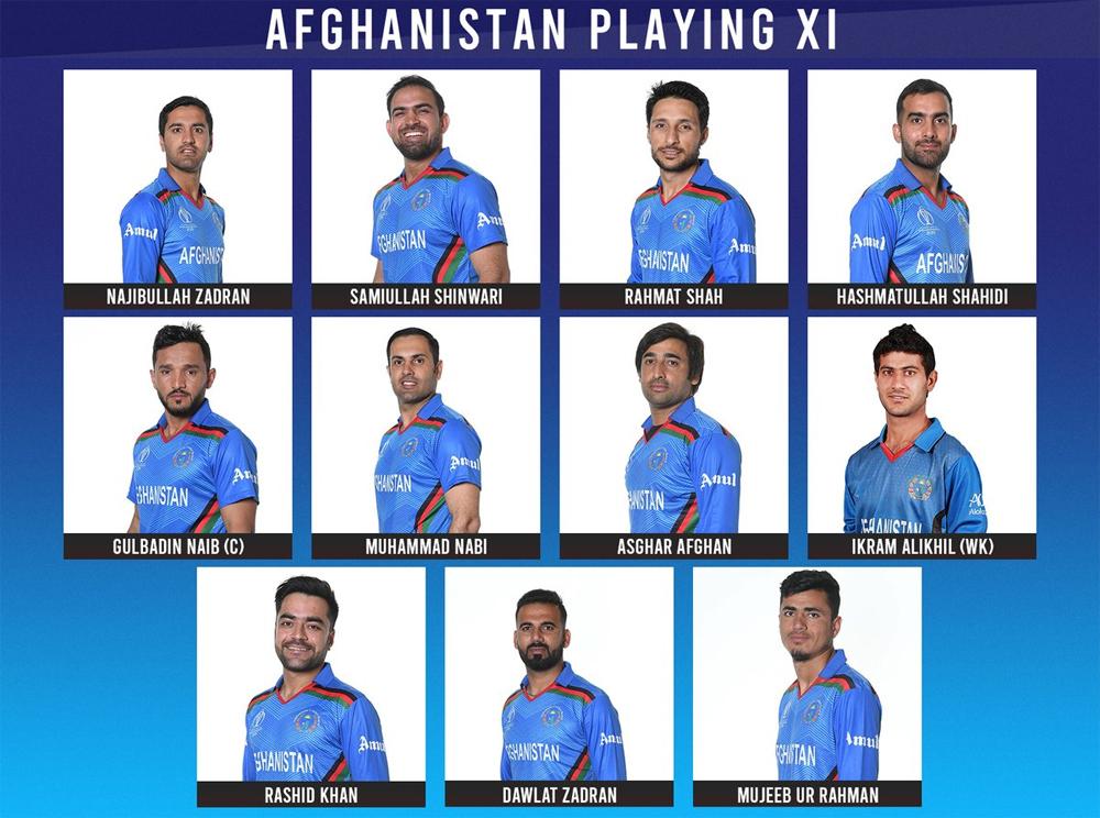 افغانستان کا بنگلہ دیش کیخلاف فیلڈنگ کا فیصلہ