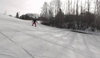 Five Year Old Snowboarder Shreds And Spins