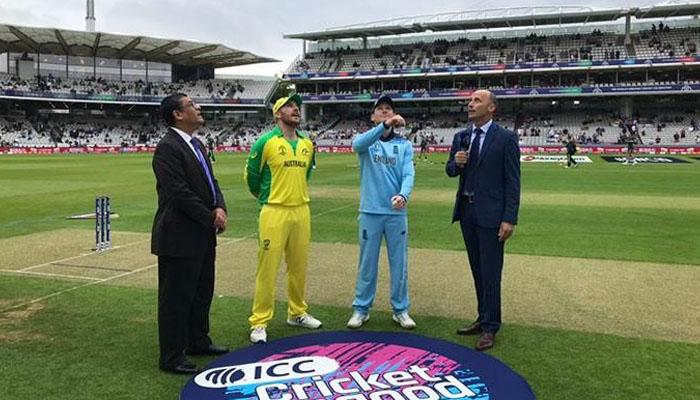 انگلینڈ کا آسٹریلیا کے خلاف فیلڈنگ کا فیصلہ