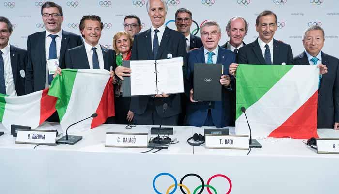ونٹراولمپکس 2026 کی میزبانی اٹلی کو مل گئی