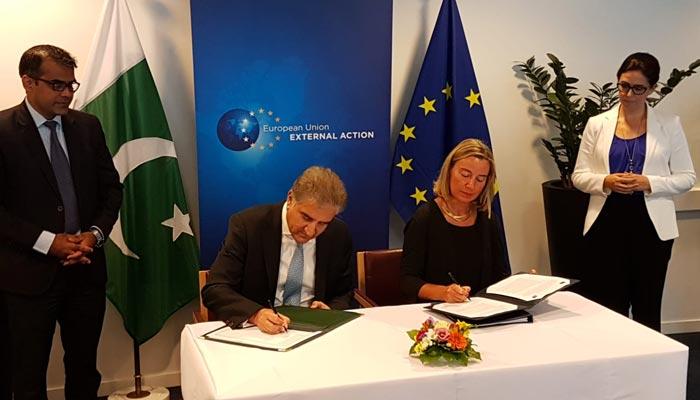 یورپی یونین، پاکستان کے درمیان اسٹرٹیجک انگیجمنٹ پلان پر دستخط
