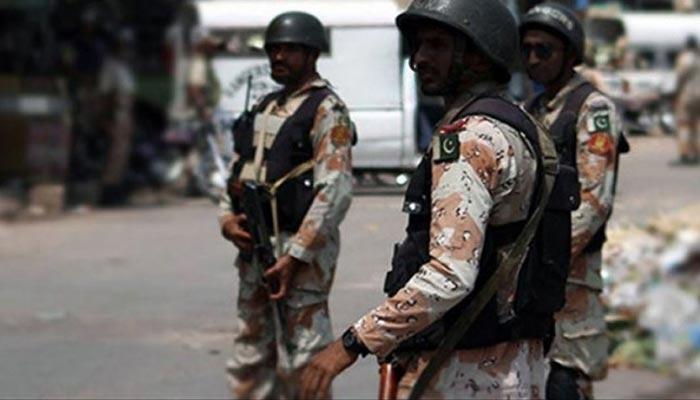 کراچی: رینجرز کی مختلف کارروائیاں، 14 ملزمان گرفتار
