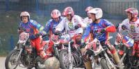 Russian Bikers Victorious Over Germany In Motorball Match Germany