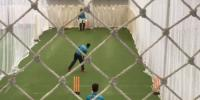 Pakistan Cricket Team Indoor Practice