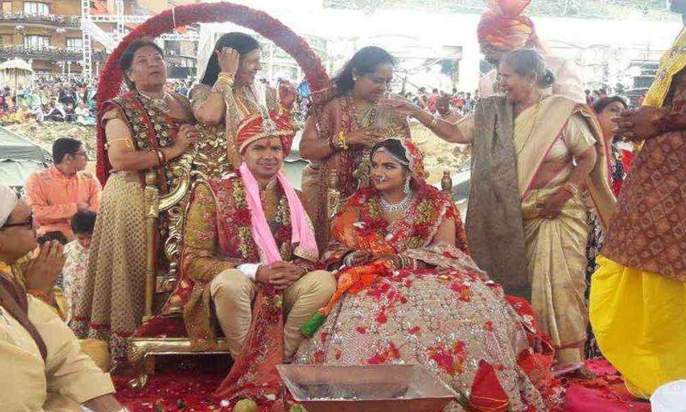 200 کروڑ کی شادی ماحول کیلئے خطرہ بن گئی